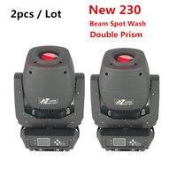 2pcs / lot 60W 90W 150W 200W 230W LED Moving Head Beam Spot Zoom Light LED Lyre for DJ Nightclub Party