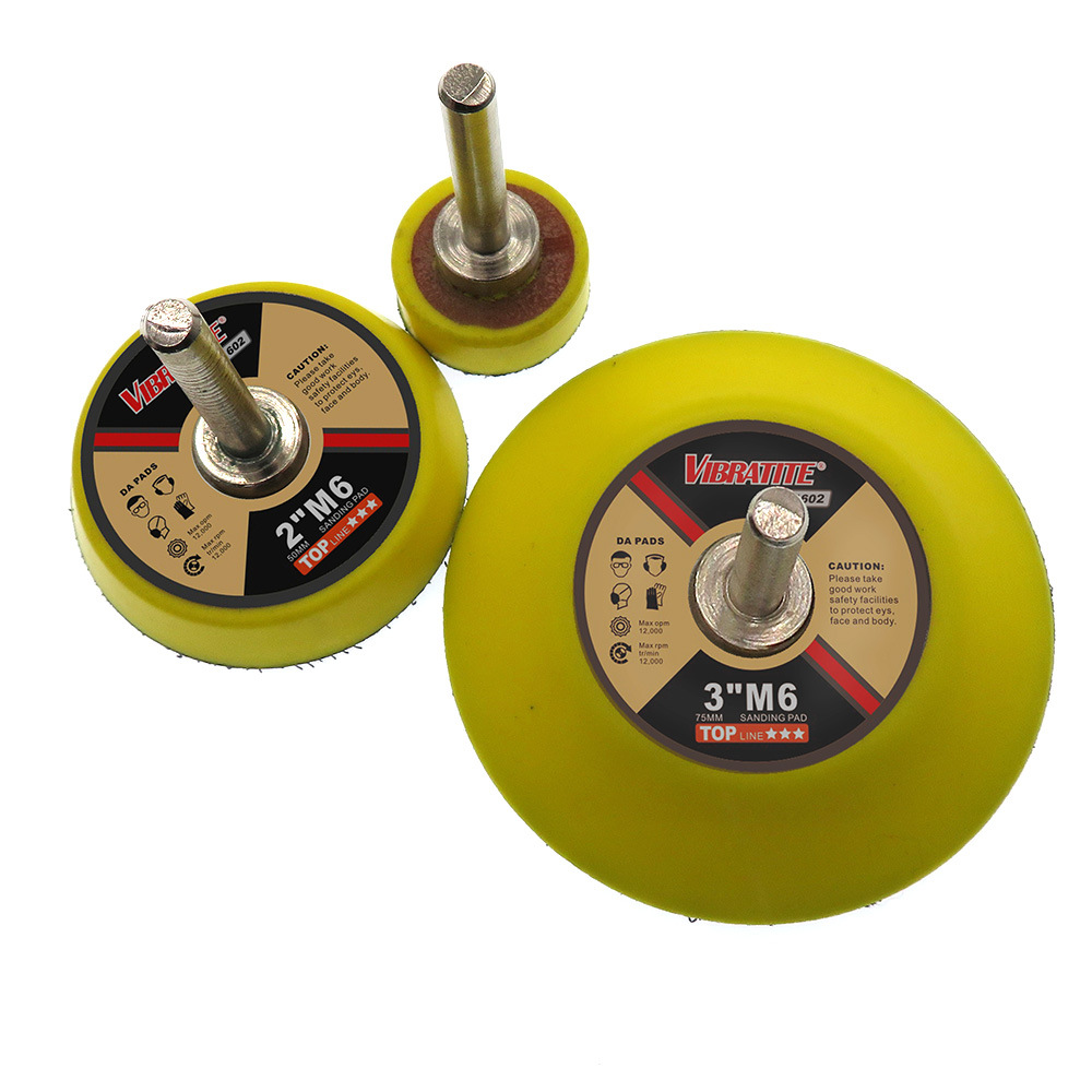 3pcs/Set Sanding Disc Sander M6 Polishing Waxing Pad 1Inch + 2Inch + 3Inch And Grinding The Surface Of Artificial Crystals, Wood