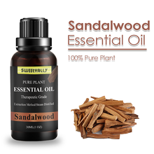 30MLSandalwood Essential Oil Reduce Anxiety Body Relax