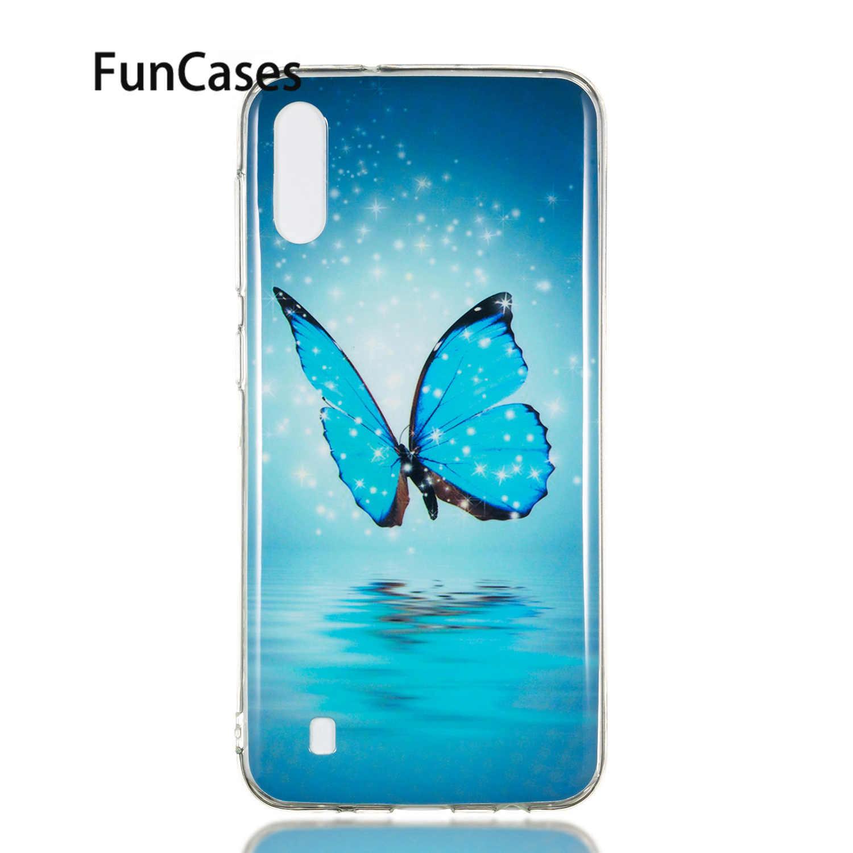 פרח רך סיליקון מגן עבור estojo סמסונג M10 הגנה Aksesuar sFor Samsung Galaxy כיסוי M20 M30 טלפון אבזר