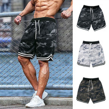 Summer New camouflage Men's Sports Fitness Five-Point Pants Basketball Training Casual Shorts Outdoor Fashion Fitness Shorts