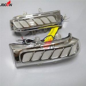 Image 5 - Für Toyota Sienna Highlander RAV4 Previa Alphard Noah 07 13 Dynamische Blinker Licht LED Seite Spiegel Sequentielle Anzeige lampe