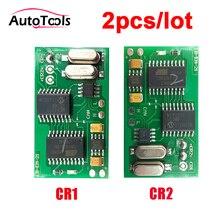 2 قطعة/الوحدة CR1/CR2 السيارات سيارة immo المحاكي لل MB سيارة التشخيص أداة منع الحركة محاكاة