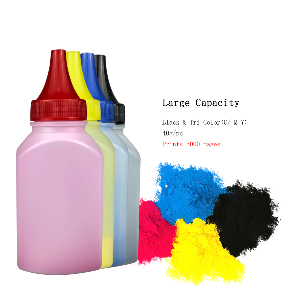 Color Toner Powder For Xerox phaser 6120 6125 6128 6130 Developer Parts Printer For Xerox 6120 6125 6128 6130 Refill Toner in Toner Powder from Computer Office