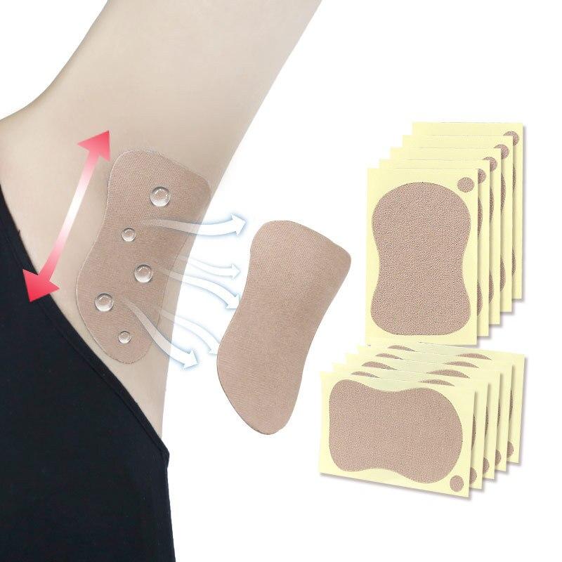 4/6/8pcs Underarm Dress Clothing Armpit Sweat Pads Sweat Perspiration Pad Absorbing Sweat Stickers Deodorant Antiperspirant