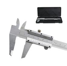 2019 NEW Metal 0-150mm 0.02/0.1mm Carbon Steel Vernier Caliper Gauge Micrometer Measuring Tool Instruments Calipers