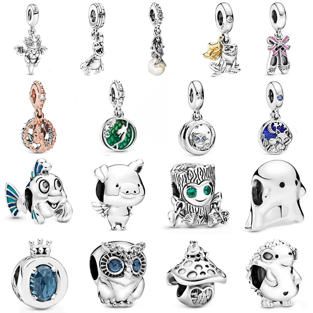 2019 NEW Autumn Series 100% 925 Sterling Silver Collect Your Love Pendant Charm Fit Women DIY Bracelet Original Jewelry Set Gift