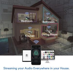 Image 5 - Up2Stream Mini V3 WiFi And Bluetooth 5.0 Audio Receiver Board Module With Spotify Airplay DLNA 24bit 192kHz FLAC Multiroom