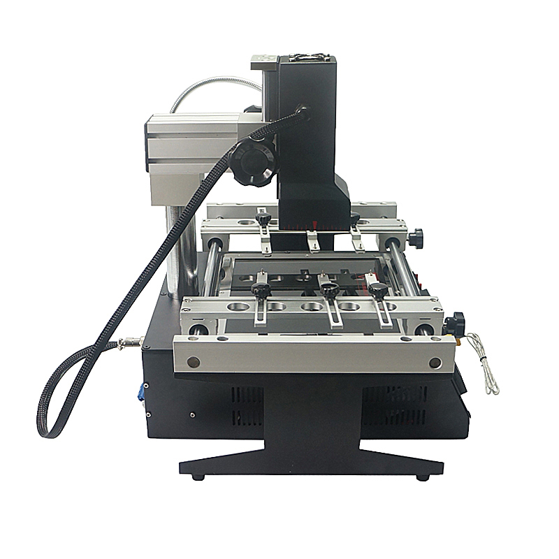 Tools : LY IR6500 V 2 infrared BGA solder station bigger preheat area 240 200mm rework machine free tax to Russia