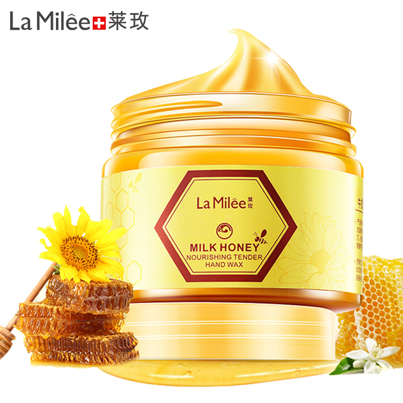 LAMILEE Milk Honey Hand Mask Hand Care Moisturizing Whitening Skin Care Exfoliating Calluses Hand Film Hand Cream 110g/150g