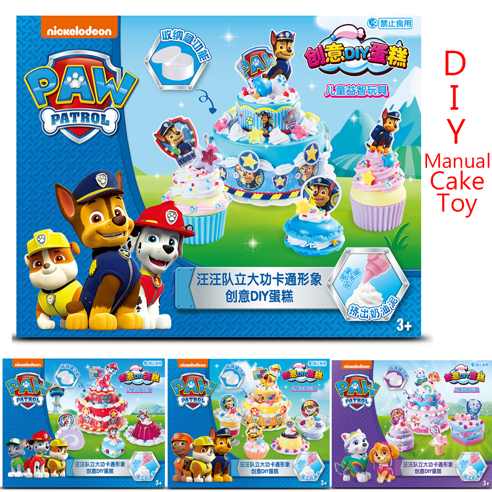 Paw Patrol Original Diy Simulation Manual Cake Toy Pretend Play Kitchen Toys Buy At The Price Of 17 99 In Aliexpress Com Imall Com