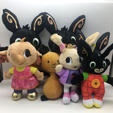 2020 New Bing Rabbit Stuffed Panda Coco Hoppity Animation Plush Dolls Soft Animal Sula Flop Voosh Baby toys Gigt Doll(China)