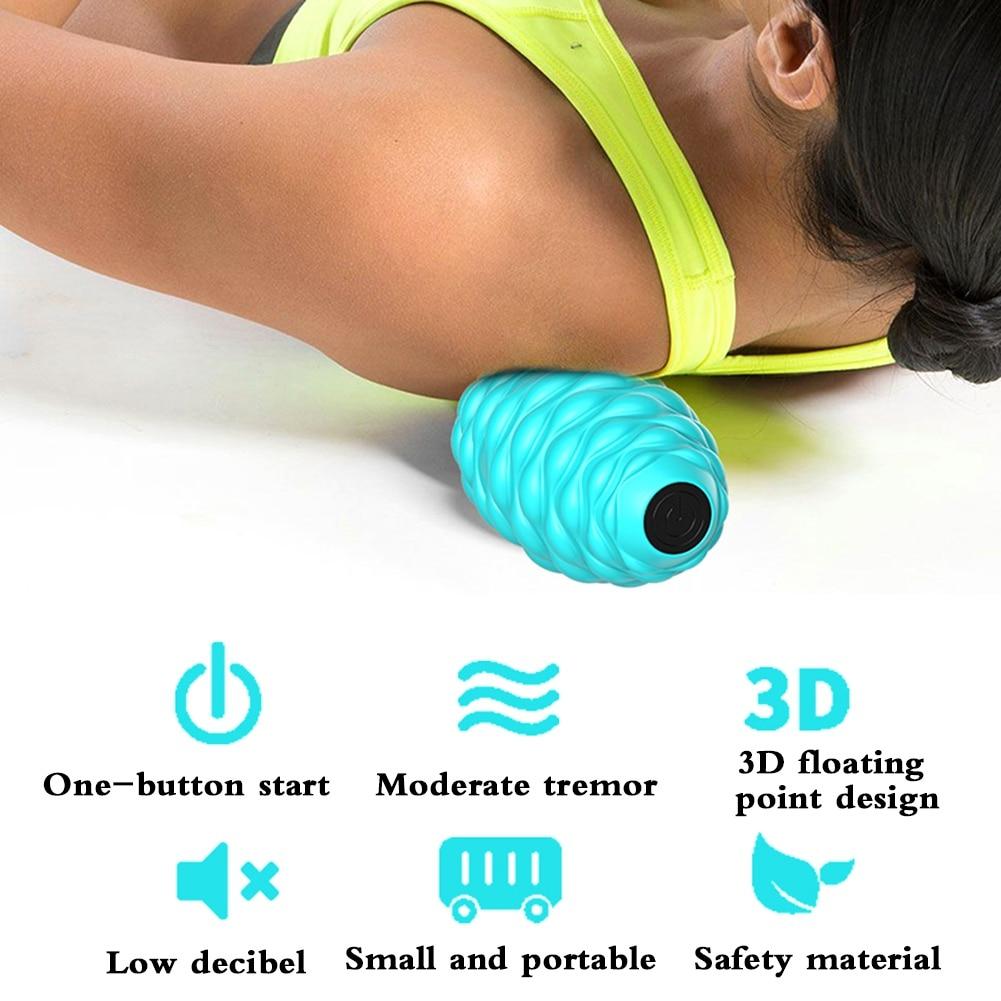 Komfortabler 2 Ball Massage Roller Stick für die Entspannung der