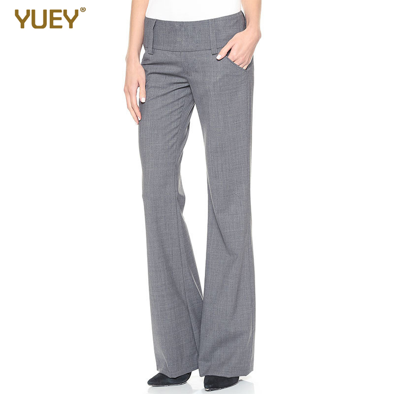 2020 Spring New Style Wide Waist Low-Rise Casual Trousers Micro Bell-bottom Pants Women Trousers Large Size  Wide Leg Pants