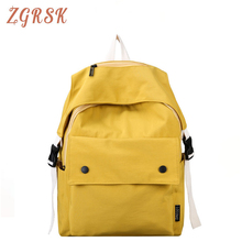 Fashion Canvas Backpack Bagpack School Bookbag Backpacks Bags For Teenagers Girls Laptop Back Pack Bag