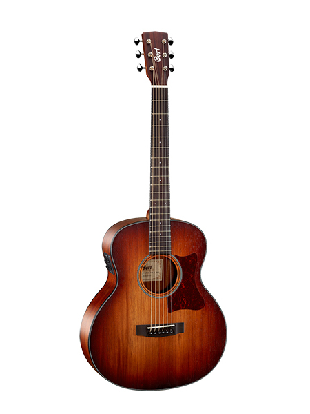 Little-CJ-Blackwood-oplb CJ series electro acoustic <font><b>guitar</b></font> <font><b>3/4</b></font> with case image