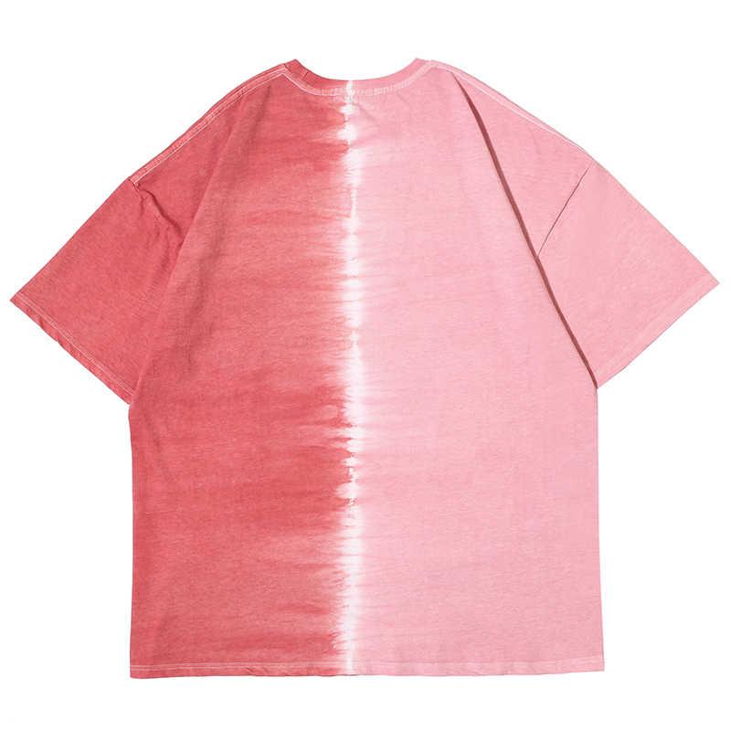2020 Musim Panas Katun T-shirt Pria Lengan Pendek Tee Pria Plus Ukuran Dicetak Streetwear Hip Hop Longgar Fashion Tshirts O-leher Atasan pria