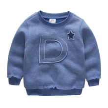 Boys Sweatshirt Hoodies Clothing Baby Pullover Long-Sleeve Toddler Kids Cotton Letter