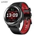 LYKRY Bluetooth Smartwatch Inseguitore di Fitness Messaggio di Promemoria ip68 Impermeabile ECG Full Touch Vigilanza Dello Schermo Per xiaomi apple del telefono