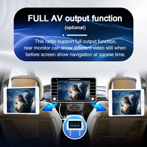 Image 4 - PX6 Car Radio 2 Din Android 10 Multimedia video Player autoradio For ford focus 2 Mk2 2004 2011 Stereo Navigation GPS no2din dvd