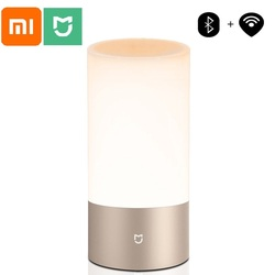 Xiaomi Mijia Mi Bedside Lamp 1 Table Desk Smart Control Indoor Light 16 Million RGB Bluetooth Wifi Touch for Mi home APP