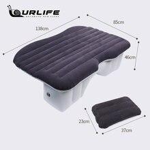 Автомобильный надувной дорожный матрас универсальный для заднего
