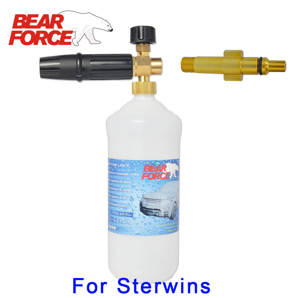Foam Nozzle Gun Cannon/ Snow Foam Lance For LeroyMerlin Sterwins 100EPW 110EPW 120EPW 130EPW 135EPW 160EPW  High Pressure Washer