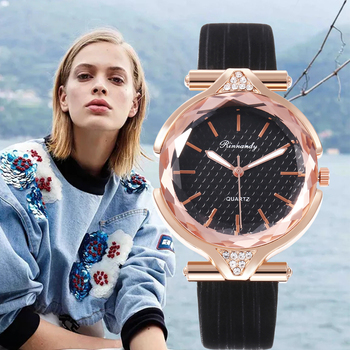 2020 Ladies Watches Top Brand Luxury Quartz Watch Women Leather Fashion  Dress Watches Casual Wristwatch Gifts Jeans For Women