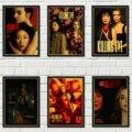 Триллер, драма, убийца ЕВА, Ретро стиль, постер из крафт-бумаги, бар, кафе, арт-деко, настенная наклейка, домашнее настенное художественное ук...
