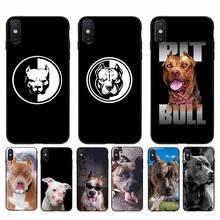 Phone-Case Pitbull 12 Mini Yinuoda for 11 Pro Max-X-Xs Pet-Dog XR 6s 5S 8-Plus Lovely
