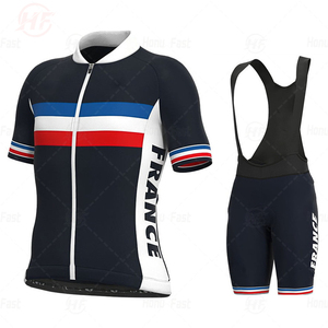 2020 Pro Cycling Jersey Breathable Bicycle Clothing Ropa Ciclismo Men Summer Quick-drying Bike Wear Clothes FRANCE JERSEY
