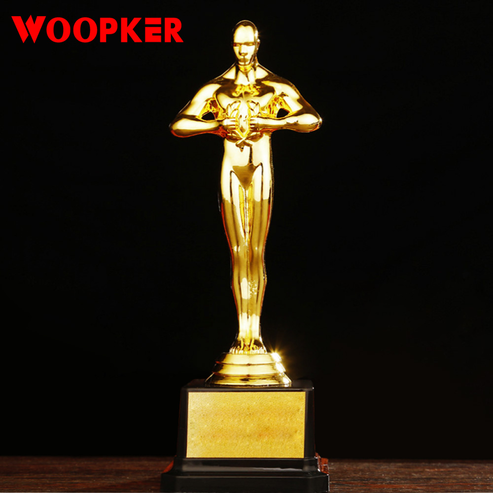 Oscar Trophy Awards Replica Small Gold Man Team Sport Race Craft Souvenirs Party Celebration Custom Gold-Plated Gifts