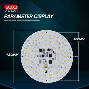Image 4 - driverless ac 220v led grow light high tech led board LM301H Full spectrum 100w samsung 3000K,660nm Deep Red For Veg/Bloom