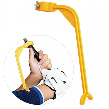 Practice Golf Training Aids Swing Guide Aid/Trainer for Wrist Arm Corrector Control Gesture