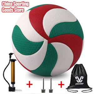 Beautiful volleyball, vsm5000, size 5, high quality volleyball, outdoor sports, training, free air pump + needle + bag(China)