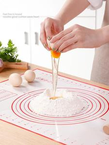 Baking-Mat Kneading Non-Stick Silicone Dough-Pad Kitchen Inner-Liner Collapsible FK5