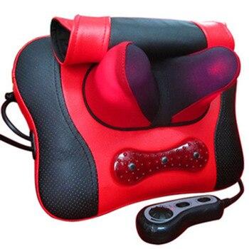 For nec  k the waist massage pillow cervical vertebra massage machine massage pad full-body massage device