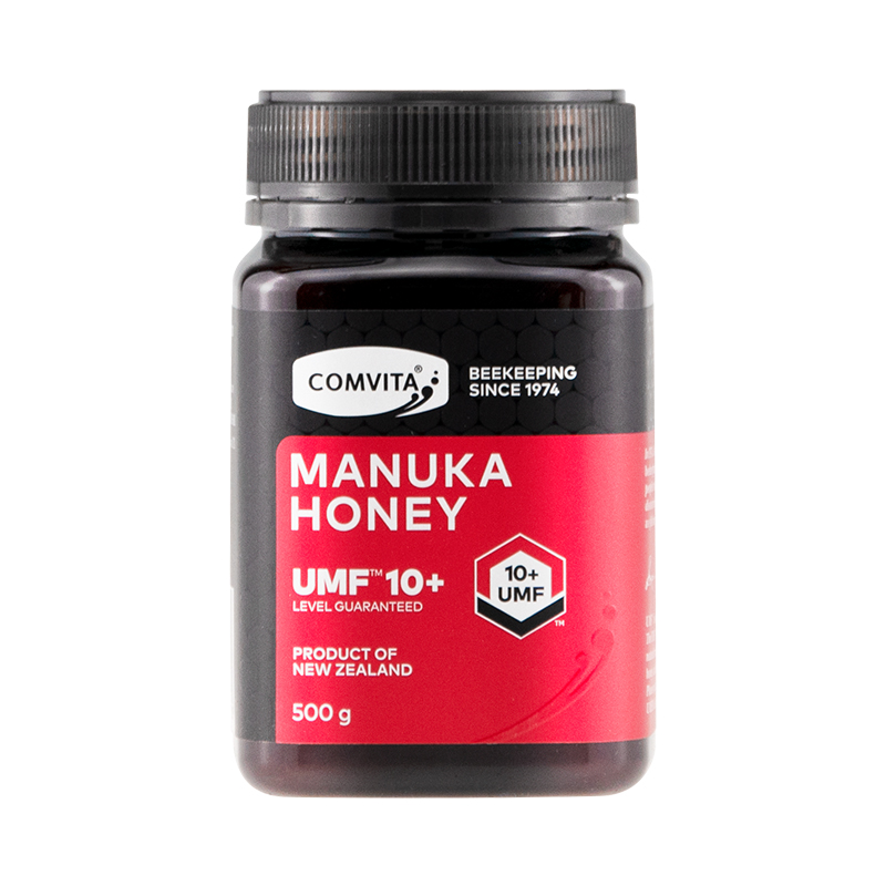 Newest 100% NewZealand Comvita Manuka Honey UMF10+ for Digestive Immune Health Respiratory System Cough Sooth Coughs Sore Throat