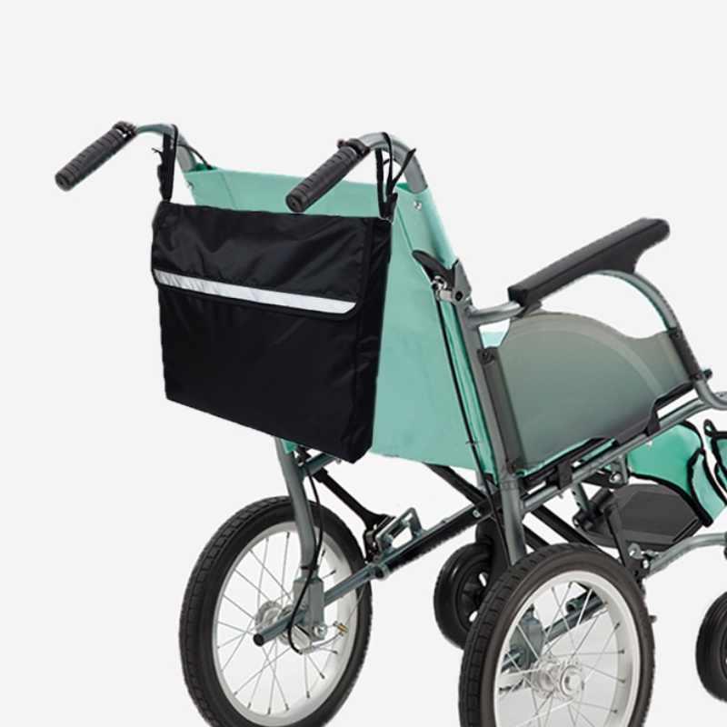 Saco de Compras Saco de Armazenamento De Mobilidade de cadeira de rodas Holdall Alça de Scooter Walker Quadro Sacos de Bolsas De Armazenamento Ao Ar Livre