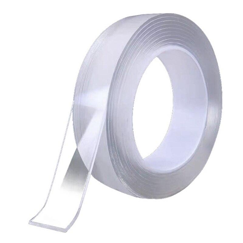 Купить 1/2/3/5 метров двухсторонняя лента без следов прочная прозрачная
