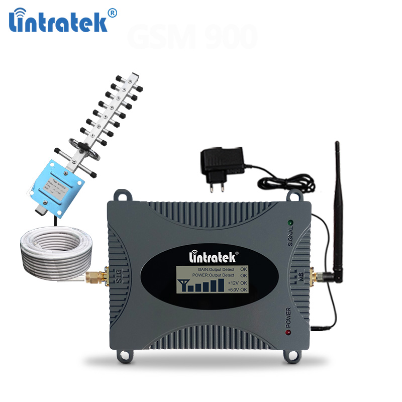 Lintratek 3G 4G Signal Booster 1800 2100Mhz Repeater 4G 1800 DCS Band 1 LTE Amplifier 3G 2100 WCDMA Band 1 UMTS Internet Booster