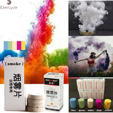 10Pcs/Box Halloween props color smoke bomb Photography Aid Decoration Tool Props Party Decor Surprise DIY