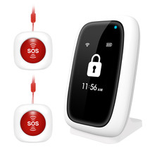 Wifi SOS Panic Alarm System App Remote Control IOS Android Voice Alert Smart Alarm System Security Home for Elderly Old People цена 2017