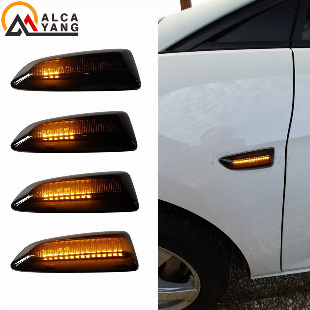<font><b>LED</b></font> Dynamic Turn Signal Light Side Marker Lamp For Opel For Vauxhall <font><b>Astra</b></font> <font><b>J</b></font> K Crossland X Grandland Insignia B Zafira C image