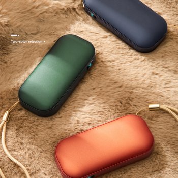 5000mAh Powerbank Hand Warmer Mini Poverbank Portable Charger External Battery for Huawei Samsung iPhone 11 X Xiaomi Power bank image