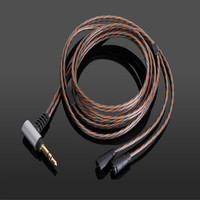 New OCC Silver Plated Audio upgrate Cable for Sennheise IE8 IE80 IE8i IE80i Earphone Headphones
