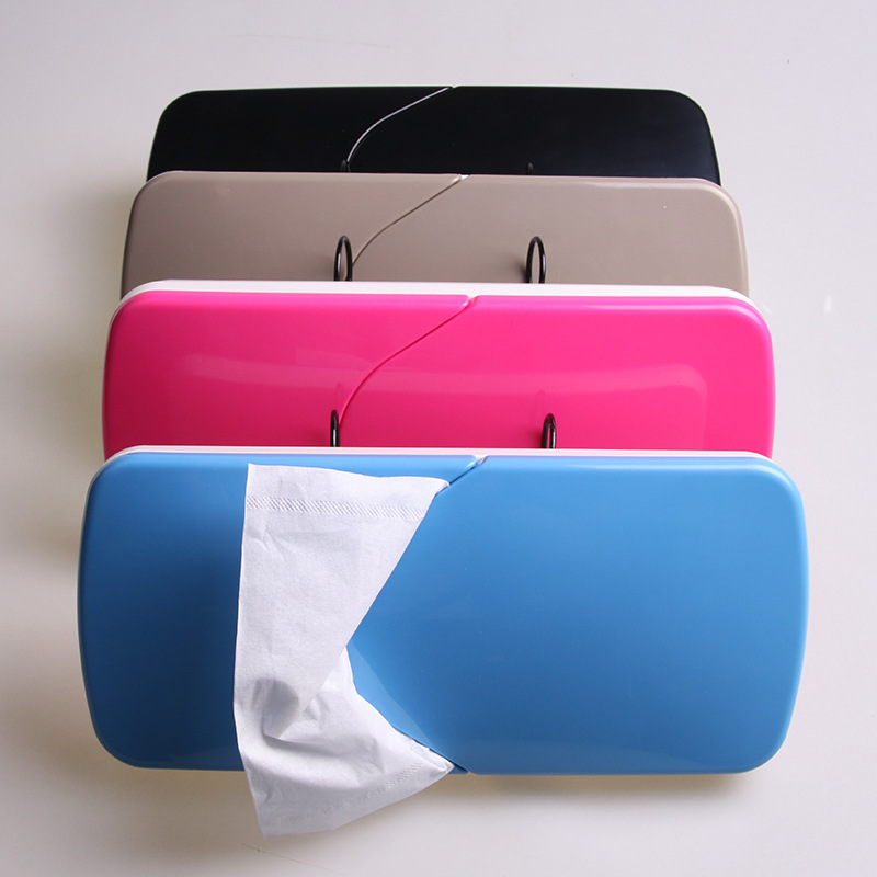Shunwei Sunshade Type Tissue Dispenser Car Mounted Tissue Cover Not With Paper Towel Slider Tissue Box Sd-1506