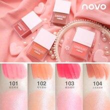 NOVO Makeup Face Liquid Blusher Sleek Silky Juice Blush Long Lasting Natural Che