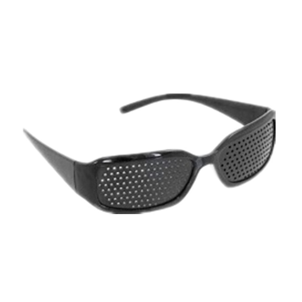 Care Eyesight Improver Pinhole Unisex Glasses Anti-Fatigue Stenopeic Glasses Fatigue Relieving Eyelet Glasses