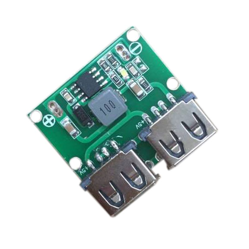 DC-DC Buck Step Down Converter 5V 3A Dual USB <font><b>Charger</b></font> <font><b>Car</b></font> Power Supply <font><b>Module</b></font> image